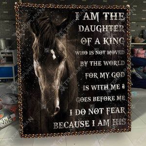 I am Daughter Of The King Blanket 3D Printing HQT-GHQ00029