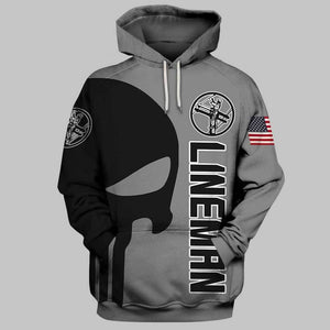 Lineman 3D Full Printing Hoodie Limited Edition
