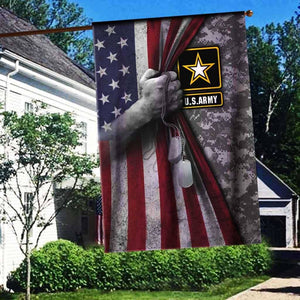 U.S ARMY Flag 3D Full Printing