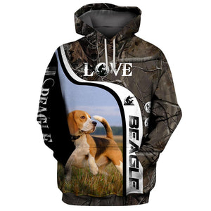 Beagle Hunting Limited Edition 3D Full Printing