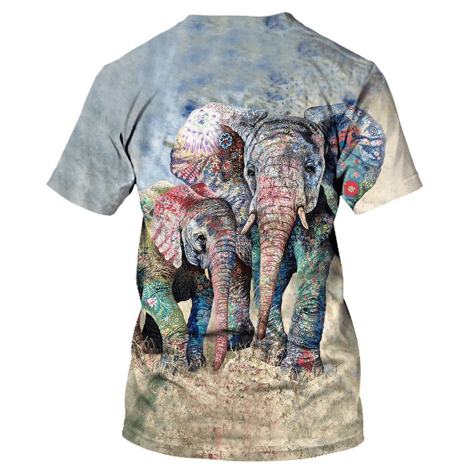 Elephant Limited edition 3D Full Printing