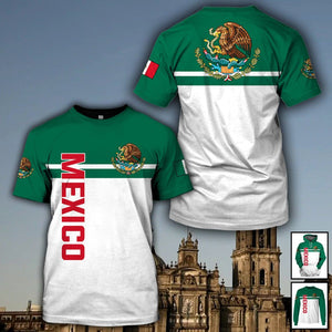 Mexico Limited edition 3D Full Printing TXH-HG175