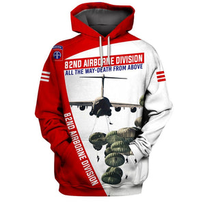 82nd airborne division Limited edition 3D Full Printing