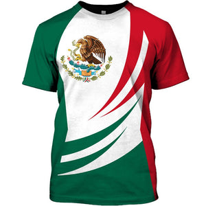 Mexico Limited edition 3D Full Printing TXH-HG198