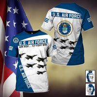 U.S Air Force Limited edition 3D Full Printing