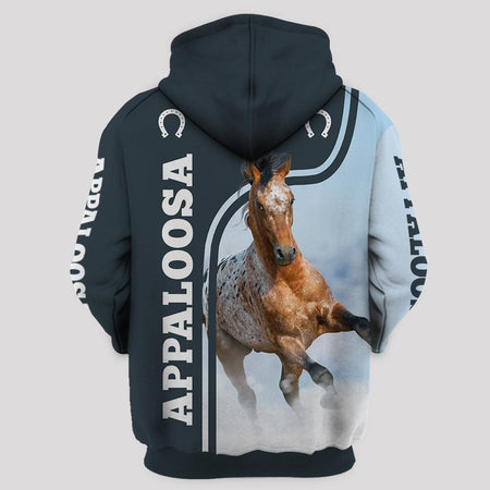 Appaloosa True Friend Limited edition 3D Full Printing