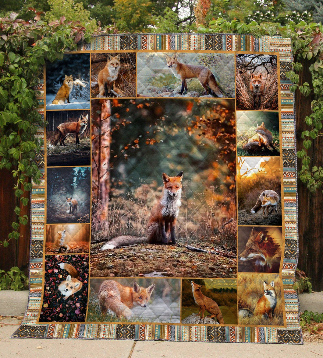 FOX HUNTING Blanket 3D FULL Printing TXH-QDD27