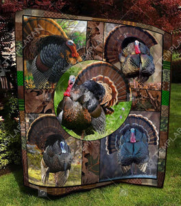 Turkey Bird BLANKET 3D FULL Printing TXH-QDT00044