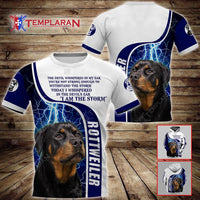 ROTTWEILER Limited edition 3D Full Printing