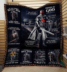 Armor of God Knight Templar Quilt Blanket HQT-QCT00006