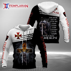 The Devil Saw Me With My Head Down - Knights Templar 3D Full Printing