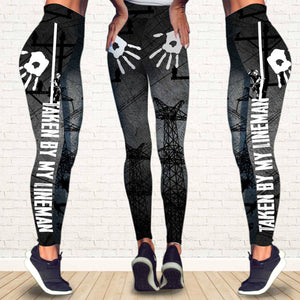 Lineman's Wife Legging 3D Full Printing