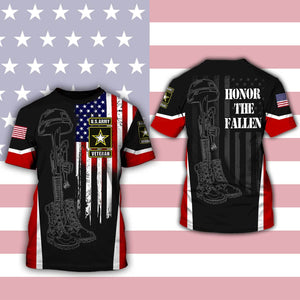 United States Army Veteran 3D Full Printing