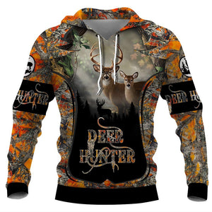 Deer hunting Limited edition 3D Full Printing