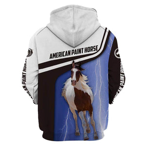 American Paint Horse Limited edition 3D Full Printing