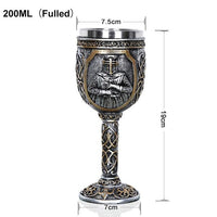 Knight Templar Goblet Beer Mug Limited Edition