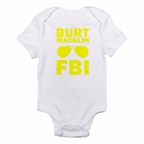 Parks and Recreation: Burt Macklin FBI Onesie -  Onesies - Heir of Grace