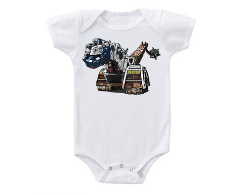 DinoTrux D-Structs Sketch Onesie -  Onesies - Heir of Grace