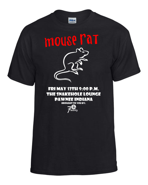 Parks and Recreation: Mouse Rat Concert T-Shirt -  T-Shirts - Heir of Grace