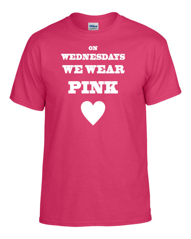 On Wednesdays We Wear Pink T-Shirt -  T-Shirts - Heir of Grace