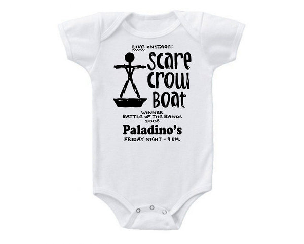 Parks and Recreation: Scarecrow Boat Concert Onesie -  Onesies - Heir of Grace