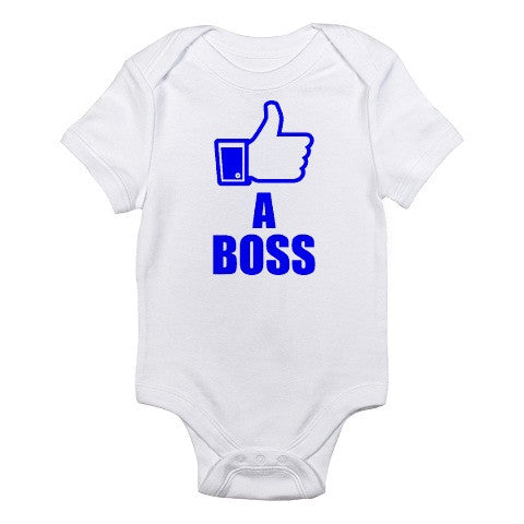 Facebook Like A Boss Onesie -  Onesies - Heir of Grace