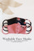 Washable Neoprene Face Mask v2 REGULAR Size (Limited Edition - Floral)