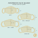 BUY 2, GET 1 FREE Washable Neoprene Face Mask v2 (Large Size)