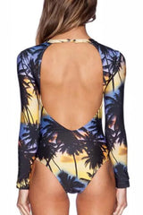 [Imported Pre-Order] P103 Sunset Shore Rashguard Suit