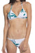 [Imported] P224 Foliage Triangle Bikini Set