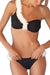P225 Kinley | Petal One Shoulder Bikini Set (2 colors)