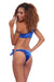 P227 Nina | Velvet Tie-Shoulder Bikini Set