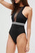 [Imported] P246 Mesh Halter Razorback One Piece (4 colors)
