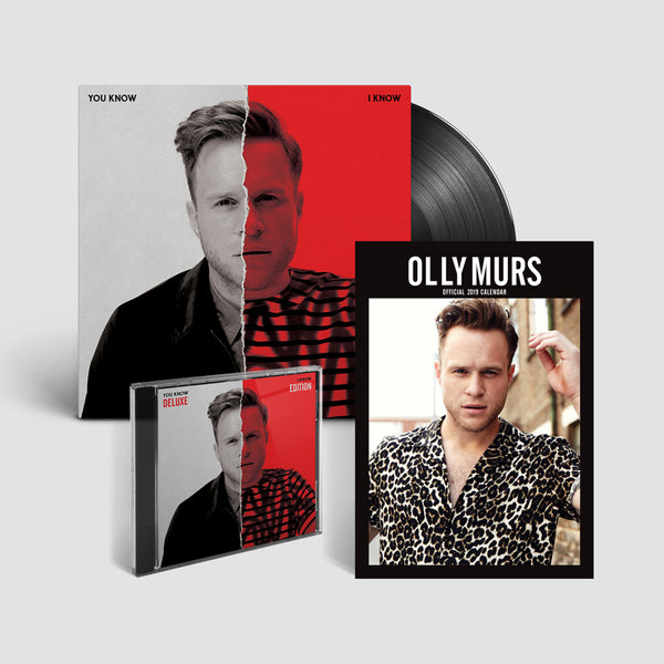 YOU KNOW I KNOW - DELUXE CD + LP + CALENDAR