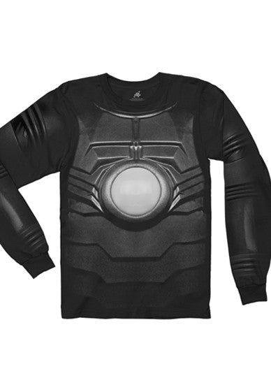 Black Red Dwarf XI 'Kryten' Costume Long Sleeve T-Shirt