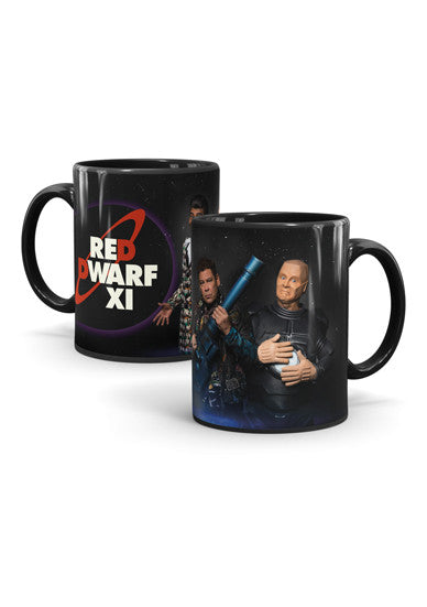 Black Red Dwarf XI 'Red Dwarf Posse' Mug