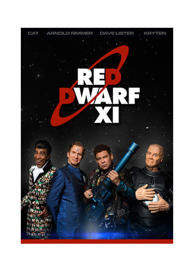 Red Dwarf XI 'Red Dwarf Posse' A3 Poster
