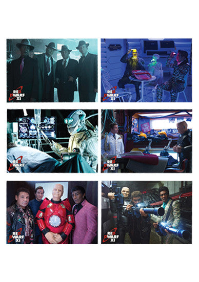 Red Dwarf XI 6 x Postcard Set