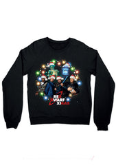 Black Red Dwarf XI Christmas Sweatshirt