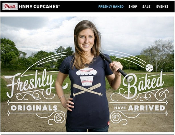 johnny cupcakes sales