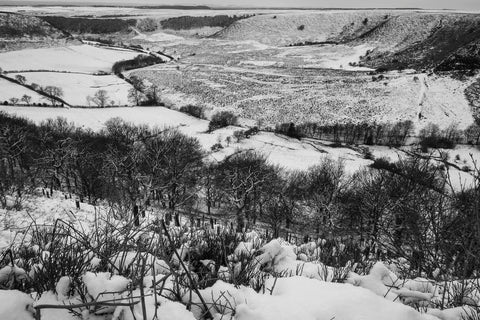 Hole of Horcum in Winter