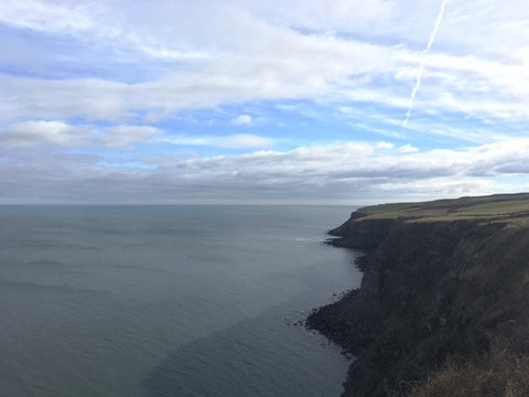 the Yorkshire Coast on the Cleveland Way
