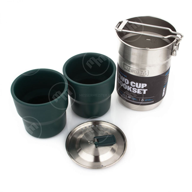 Stanley Adventure Camp Cook Set Steel & Nesting Cups