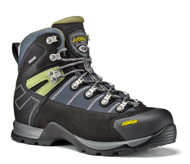 Asolo Fugitive GTX Men's Hiking Boot Black/grey - Trailblazer Outdoors, Pickering