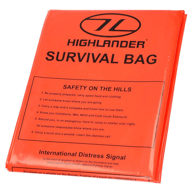 Highlander Survival Bag - Trailblazer Outdoors, Pickering
