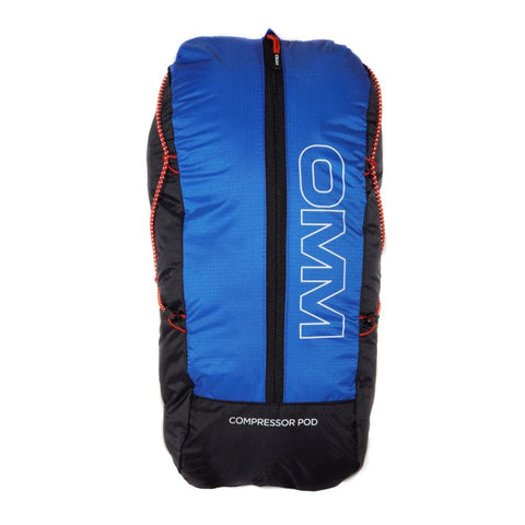 OMM Ultra 8 Unisex Rucksack Running - Blue/Black