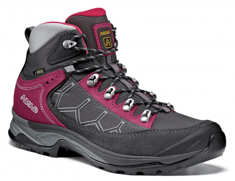 Asolo Falcon GV GTX Womens Walking Boots Graphite/Graphite