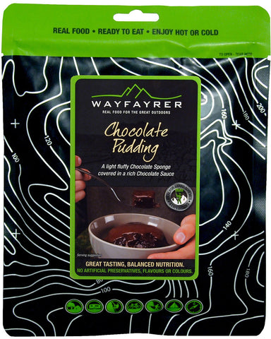 Wayfayrer Foods Chocolate Pudding With Chocolate Source - Trailblazer Outdoors, Pickering