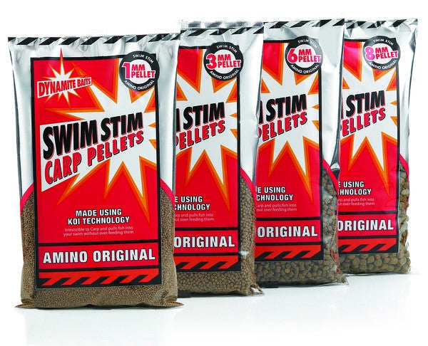 Dynamite Baits Swim Stim Carp Pellets 6mm - Trailblazer Outdoors, Pickering