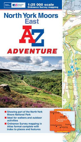 A to Z Adventure North York Moors East - Trailblazer Outdoors, Pickering